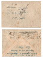 MUY BONITO CENSURA MILITAR DE LEON, GOMIGRAFO COMANDANCIA Y RARO RODILLO AL DORSO. - Militärpostmarken