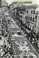 Lazio-roma-genzano Di Roma Genzano Tradizionale Infiorata Differente Veduta (vedi Insegna Pasticceria) - Altre Città