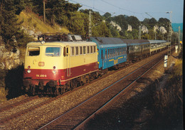 DB , Electric Express Locomotive 114 490-6 - Trains
