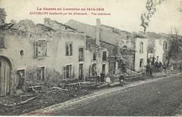 54 - Anthelupt Bombardée Par Les Allemands - Vue Intérieure - Guerre De Lorraine En 1914-1918 - Correspondance Militaire - Francia