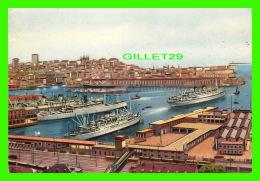 GENOVA, ITALIE - LE PORT - IL PORTO - TRAVEL IN 1952 - RIS. STAMPALO - - Genova (Genoa)