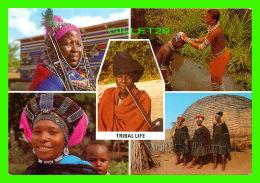SOUTH AFRICA - TRIBAL LIFE / STAMLEWE - 5 MULTIVUES - - Afrique Du Sud