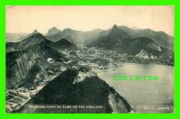 RIO DE JANEIRO, BRESIL - PANORAMA VISTO DO CUME DO PÂO D'ASSUCAR - A. RIBEIRO - - Rio De Janeiro