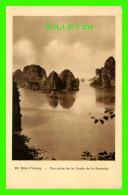ALONG, VIET-NAM - EN BAIE D'ALONG - VUE PRISE DE LA GROTTE DE LA SURPRISE - ÉCRITE - CLICHE A. GRIMALD - EDITION NADAL - - Viêt-Nam