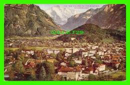 INTERLACHEN, SUISSE - VIEW OF THE VILLAGE - - BE Berne