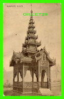 EXPOSITIONS - BRITISH EMPIRE EXHIBITION 1924 -  BURMESE KIOSK - CAMPBELL GRAY - - Expositions