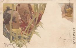 "12112-OPERA LIRICA ""IRIS"" DI MASCAGNI-ILLUSTRATORE HOHENSTEIN-1899-FP - Opera"