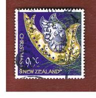 NUOVA ZELANDA (NEW ZEALAND) - SG 2645  -  2003  CHRISTMAS: SILVER & GOLD BIRD    -  USED° - Nuova Zelanda