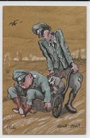 GUERRE 39/45 - PROPAGANDE ANTI NAZIE - ILLUSTRATEUR PAILHES : HIMMLER ET GÖRING En Aout 1944 ! - Guerre 1939-45