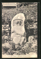 AK Gryon, Monument De Juste Olivier - VD Vaud