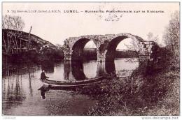 D34  LUNEL Ruines Du Pont-Romain Sur Le Vidourle ( Ref D 568 ) - Lunel