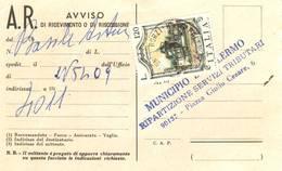 Avviso Postale Affrancato Commemorativo Lire 120 - 6. 1946-.. Repubblica
