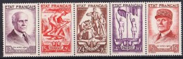 Timbres De France Neufs Bande  N°°580A De 1943 - France
