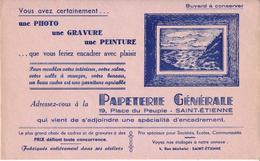 Buvard : Papeterie Générale - Saint Etienne - NEUF - - Stationeries (flat Articles)