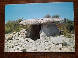 L10/187 Saint Alban Sous Sampzon. Un Tres Beau Dolmen - Non Classificati