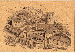 CP LIÈGE (Réf : O 943) CASTEIL (66 PYRÉNÉES-ORIENTALES) Abbaye De Saint-Martin Du Canigou (XI°) - Other Municipalities