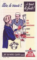Buvard : SUPER COCOTTE SEB - - Buvards, Protège-cahiers Illustrés