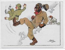 GUERRE 39/45 - PROPAGANDE ANTI-NAZIE - ILLUSTRATEUR - Guerra 1939-45