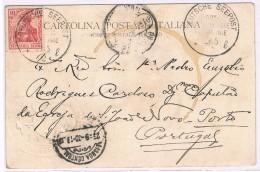 Portugal, 1902, Deutsche Seepost, Para O Porto - 1910-... Republic