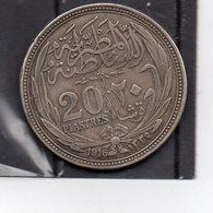 Egypte / Egypt - 20 Piastres Année 1916 ( Silver/argent) - Aegypten