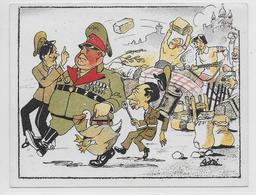 GUERRE 39/45 - PROPAGANDE ANTI-NAZIE - ILLUSTRATEUR - LIBERATION - Guerre 1939-45