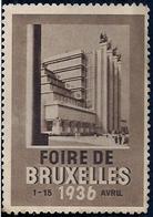 VIGNETTE - FOIRE DE BRUXELLES - 1926. - Belgium