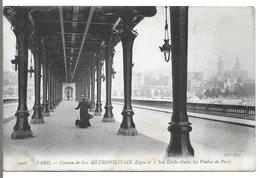 PARIS - Chemin De Fer METROPOLITAIN - Ligne N° 2 Sud Etoile-Italie, Le Viaduc De Passy - Stations, Underground