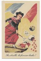 GUERRE 39/45 - PROPAGANDE ANTI-NAZIE - ILLUSTRATEUR ZISLIN - LIBERATION ALSACE - War 1939-45