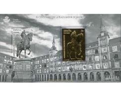 Ref. 585896 * MNH * - SPAIN. 2018. IV CENTENARIO DE LA PLAZA MAYOR DE MADRID - Stamps On Stamps