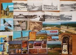 Verdun, Commercy, Avioth, Varennes, Bar Le Duc, Marbotte, Saint Mihiel, Meuse. 22 Cartes - Cartes Postales