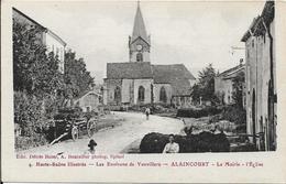 ALAINCOURT La Mairie.L' Eglise - Autres Communes