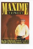 """Maxime Thierry """"Walter Dans Ceux Sont Des Choses Qui Arrivent"""" Avignon 1997 Cinevox Artiste Belge - Artistes"""
