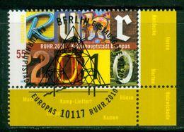 BRD 2010 / MiNr.   2776     Rechts Unten Ecke Mit Ersttagsstempel  O / Used  (d714) - BRD