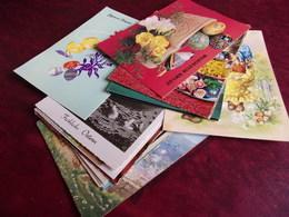 Lot Cartes Postales De Paques Et Du Muguet - Easter