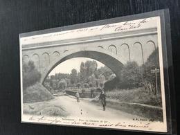 59 Solesmes 1904  Pont Chemin De Fer - Solesmes