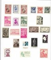 España. Viñetas. Conjunto De 92 Viñetas De Diferentes Motivos Y Fechas - 1931-Hoy: 2ª República - ... Juan Carlos I