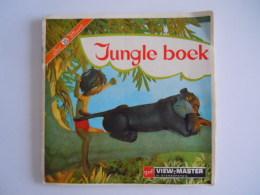 View-master Viewmaster GAF Jungle Boek Book België Nederlands 3 Schijfjes Reels B 363 N 3631-3632-3633 + Boekje - Stereoscoopen