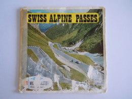 View-master Viewmaster Sawyer's SWISS ALPINE PASSES Belgium German 3 Schijfjes Reels C 127 1271-1272-1273 - Visionneuses Stéréoscopiques