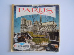 View-master Viewmaster Sawyer's PARIJS Belgium Nederlands 3 Schijfjes Reels C 166 1661-1662-1663 - Stereoscoopen