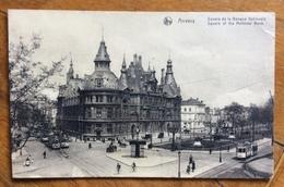 ANVERS  SQUARE OF NATIONAL BANK  Viaggiata 15/2/1920 - Belgio