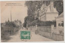 CPA 37 JOUE LES TOURS Rue Gamard Et Villa La Fontaine - France