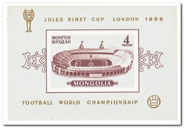 Mongolië 1966, Postfris MNH, Football ( Imperf. ) - Mongolië