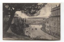 Roma, Rome - Rupe Tarpea E Teatro Marcello - Old Postcard - Altri Monumenti, Edifici