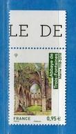Francia ** -2018 - ABBAYE De TROIS-FONTAINES. Bord De Feuille .MNH.  Vedi Descrizione - Francia