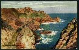 RB 1213 -  1936 J. Salmon Postcard - Le Gouffre - Guernsey Channel Islands - Guernsey