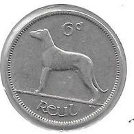 *ireland 6 Pence 1939  Km 13  Xf - Irlanda