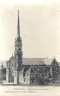MONTBELIARD . EGLISE CATHOLIQUE ET PRESBYTERE . CARTE NON ECRITE - Montbéliard