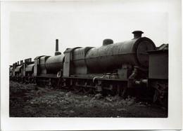 Railway Photo LMS 6F 12827 7F 12886 Horwich Works L&YR Hughes Q3 Q4 0-8-0 Loco - Eisenbahnen