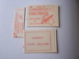 Vignettes Experimentales Carnet SANS VALEUR VIDES FERME Cof. 3 & Conf. 8 - Phantom