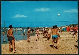 RB 1213 -  Sporting Postcard - Beach Volleyball Oostende Belgium - Volleyball
